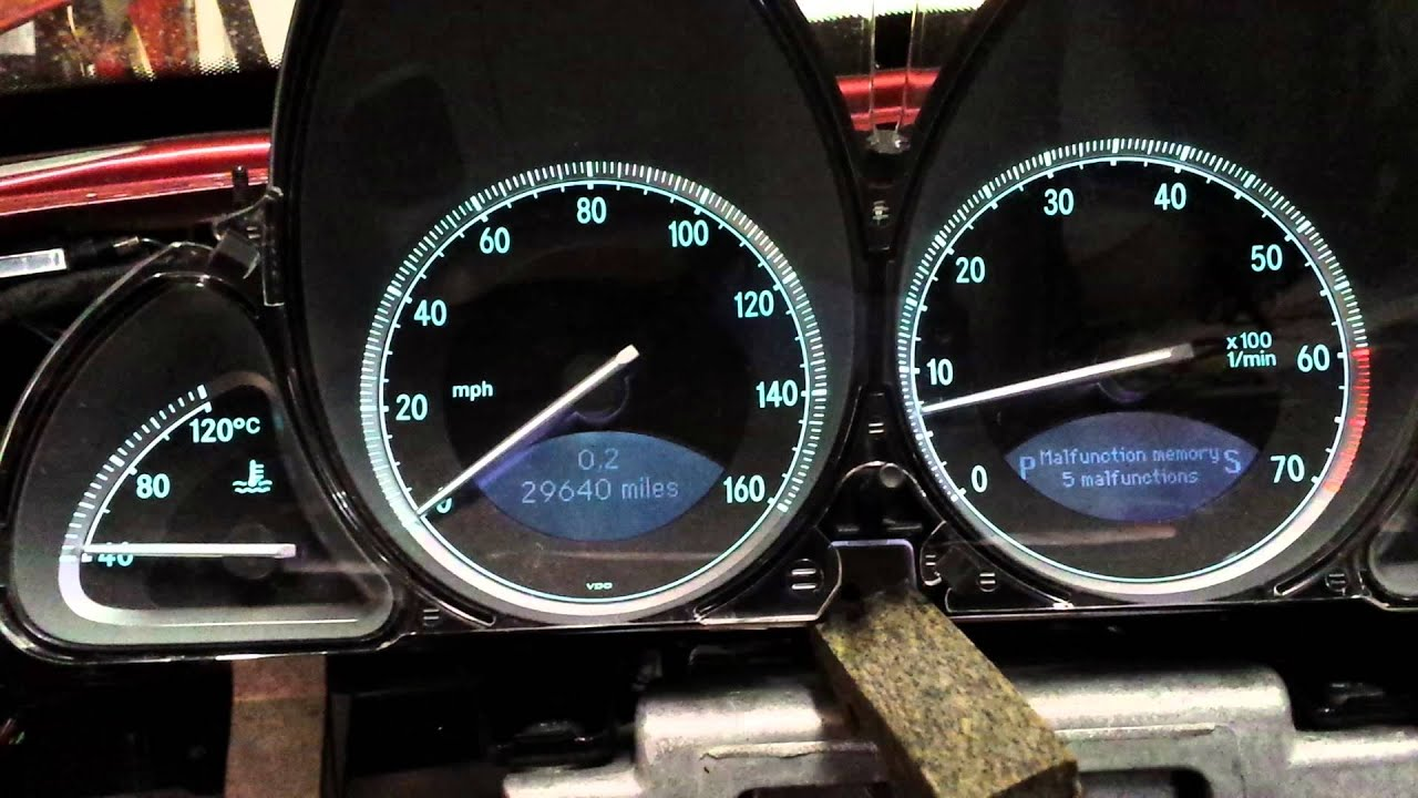 small resolution of 2003 sl500 instrument cluster turboharley