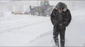Blizzard fegt über den Osten Kanadas