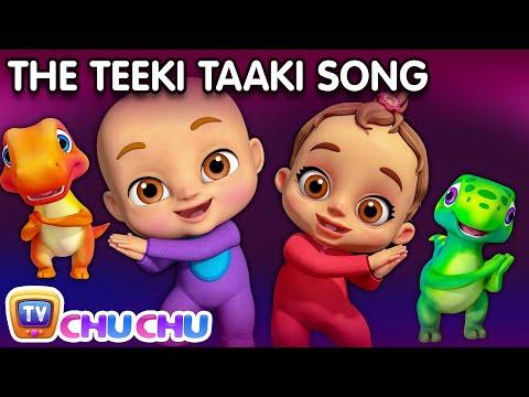 You put your right hand in - Teeki Taaki Action Song - Nursery Rhymes & Songs For Babies - ChuChu TV - วันที่ 24 Jul 2018