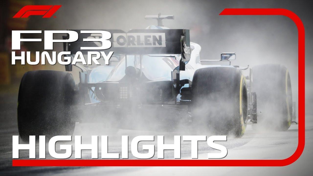 2019 Hungarian Grand Prix: FP3 Highlights