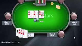 Уроки Школы Покера PokerStarter: Прямолинейная игра - Omaha Hi/Lo
