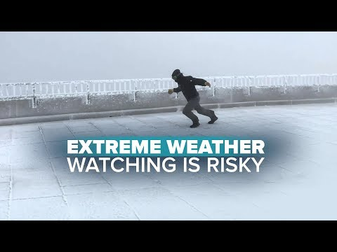 Extreme weather watching is risky business on Mount Washington