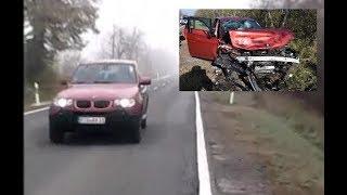 A frontális baleset előtti másodpercek és a súlyos baleset eredménye