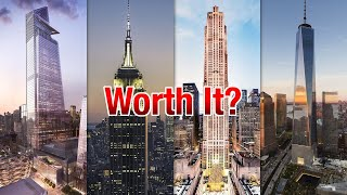 Which NYC Observation Deck is BEST ?? (Watch Before You Go !) (New York City Attraction Review)