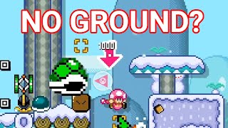Beating Extremely Difficult Mario Maker 2 Levels 29 — The Floor is... Ice?
