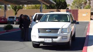 Palm Springs Police, COMPLAINT & FOLLOW UP for w/News Now CA