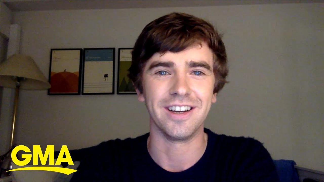 Download Freddie Highmore talks 'The Good Doctor' l GMA