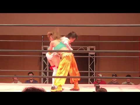 坂崎ユカ対辰巳リカ フィニッシュ!