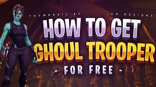 Fortnite Ücretsiz Skin,Kazma,Dans Alma[FORTNITE HOW TO GET FOR FREE GHOUL TROOPER,FLOSS]