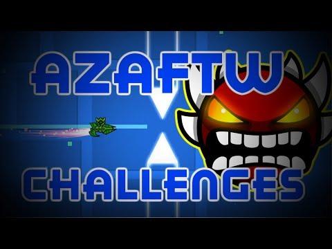 PIXEL PERFECT JUMPS ~ Geometry Dash AzaFTW Challenges
