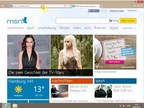 EXCHANGE 2013 Konfigurieren von Outlook Web App und Outlook Anywhere