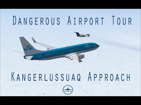 Dangerous Airports Tour: Kangerlussuaq Approach