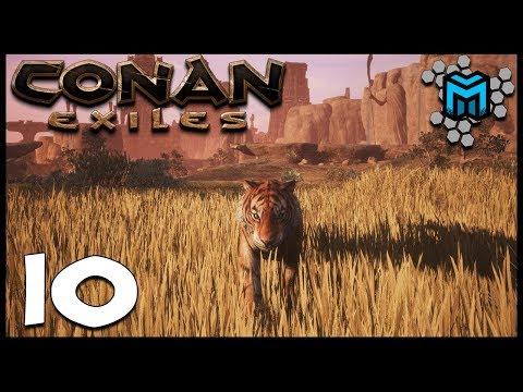 JUNGLE CAT EP10   Conan Exiles Multiplayer Gameplay   Conan Devolved Season 3