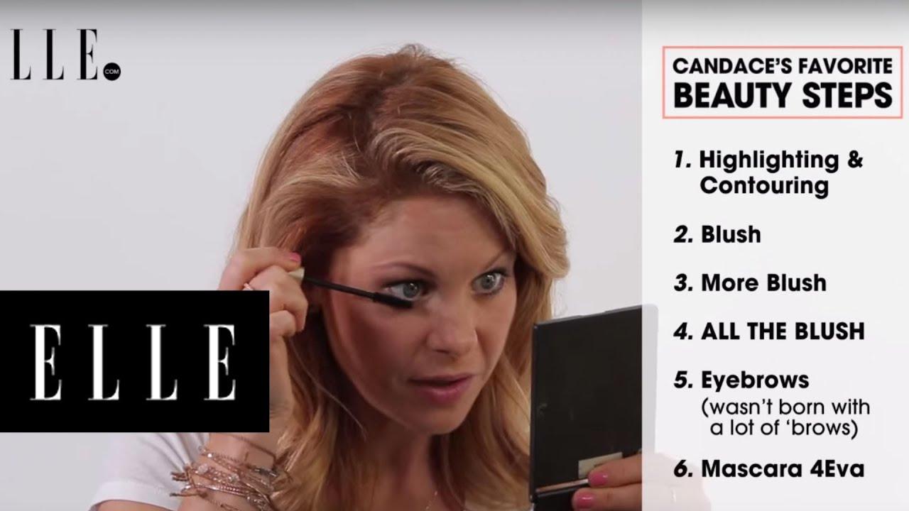 candace cameron-bure's fuller house of glam | elle - youtube
