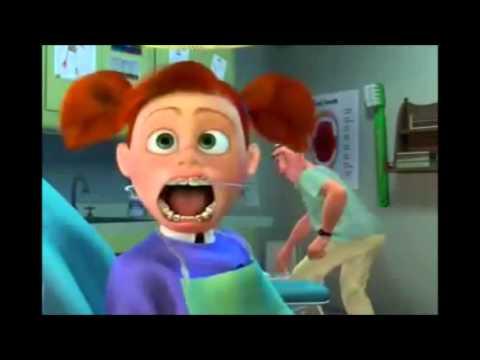 Finding Nemo Dentist Scene Youtube