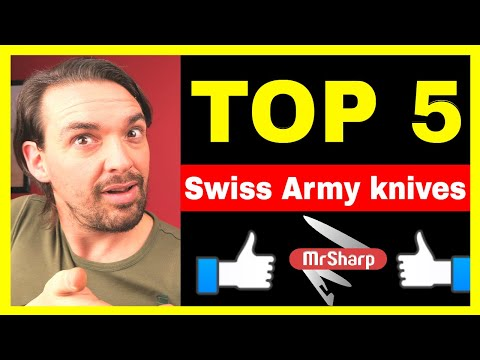 Top 5 Best Swiss army knives! AMAZING Swiss Army Knives!
