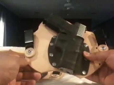 New kholster holster review for kimber ultra carry vs kahr