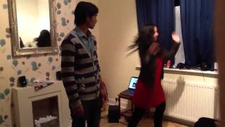 Uclan indian society diwali dance practice radha song
