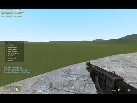 [small Project] GMOD Counter-Strike Radio Command test