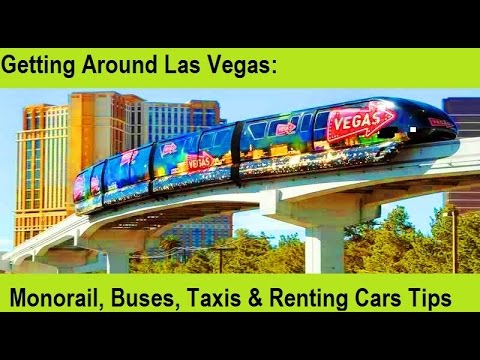 Getting Around Vegas for Visitors:  Monorail - from top-buffet.com