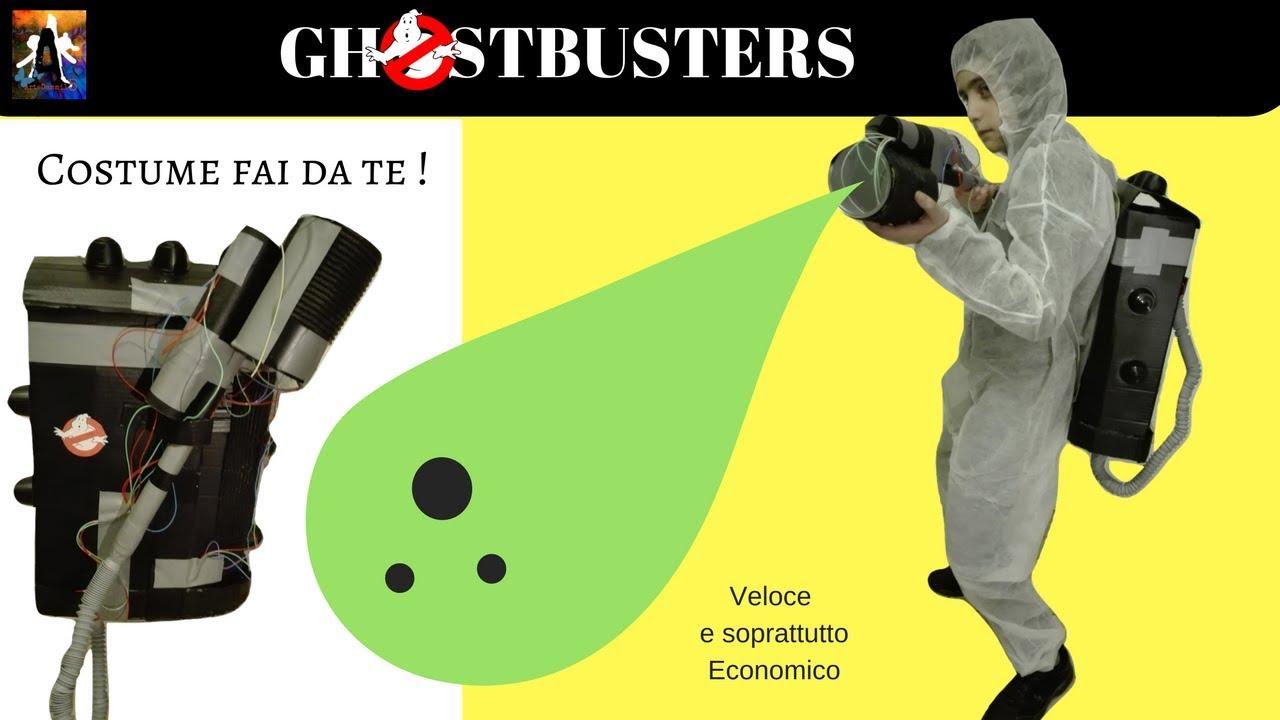 Ghostbusters Costume Fai Da Te Veloce E Soprattutto Economico