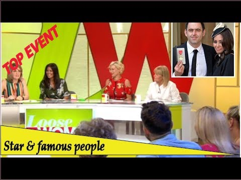 Top Event - Laila Rouass disgusts Loose Women panel by revealing fiancé Ronnie O'Sullivan cuts hi...