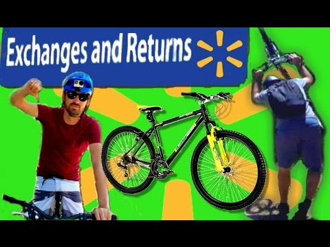 """Walmart """"Mountain Bike""""  vs Beginner MTB 'er - Who Will Survive?"""