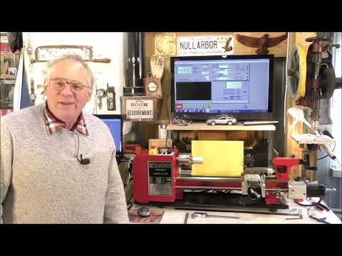 How To Program A CNC Mini Lathe Using Mach3 Wizards 1