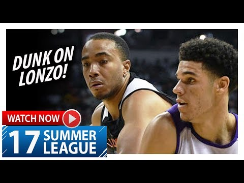 Brice Johnson Full Highlights vs Lakers (2017.07.07) Summer League - 23 Pts, 7 Reb, DUNK ON LONZO!
