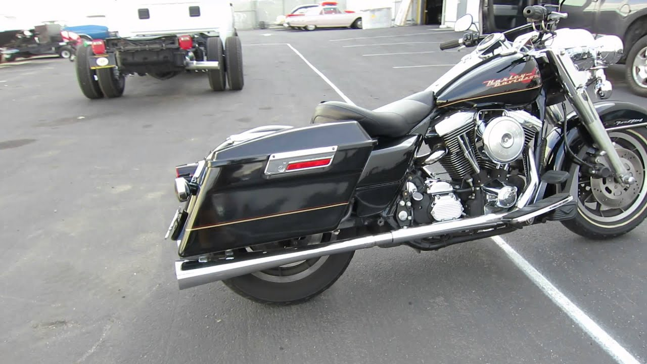 1997 Harley Road King 23k Miles Youtube Davidson Pictures