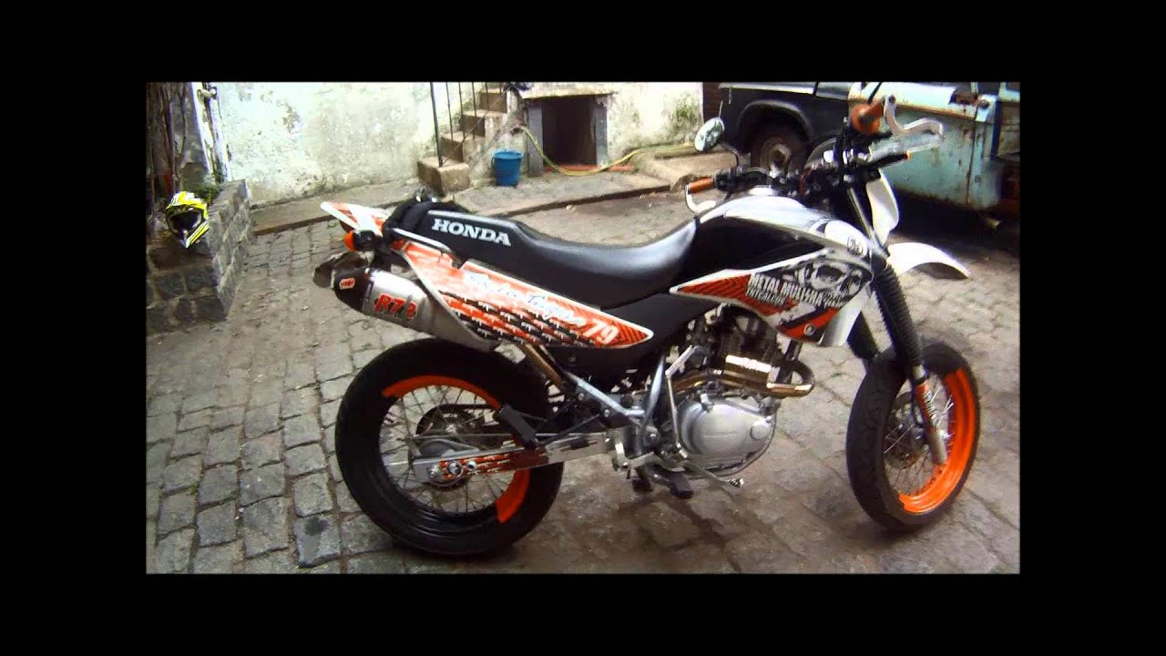 xr 125 motard youtube. Black Bedroom Furniture Sets. Home Design Ideas
