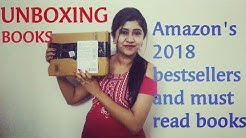 Unboxing Amazon's 2018 bestsellers books || Video In Hindi || Must Read