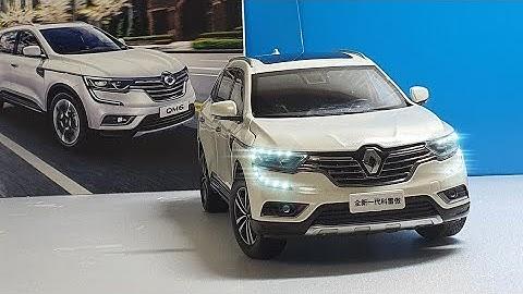 [1:18다이캐스트] 르노삼성 QM6 (수출형 콜레오스) 모형 자동차 리뷰 1:18 Dicast Car Renault Samsung QM6 (Exportable Colleos)