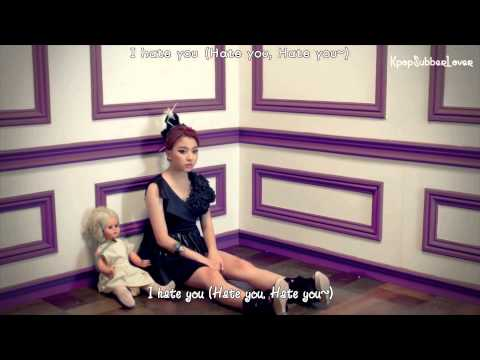 Ladies' Code - Hate You MV [Eng Sub+Romanization+Hangul] HD