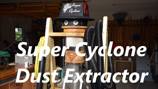 Super Cyclone Dust Extractor