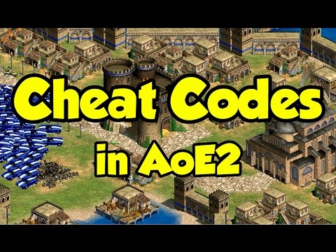 Cheat Codes In AoE2