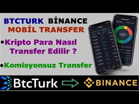 Btcturk Binance Transfer Mobil Anlatım 2020 📱 Btcturk Pro Mobil Komisyonsuz Kripto Para Transferi