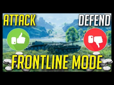 ► Frontline Returns, More Credits, but... - World of Tanks Frontline Mode - 1.0.1 Update