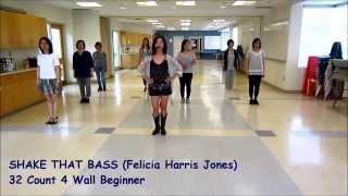 Shake That Bass Line Dance (Dance & Teach)