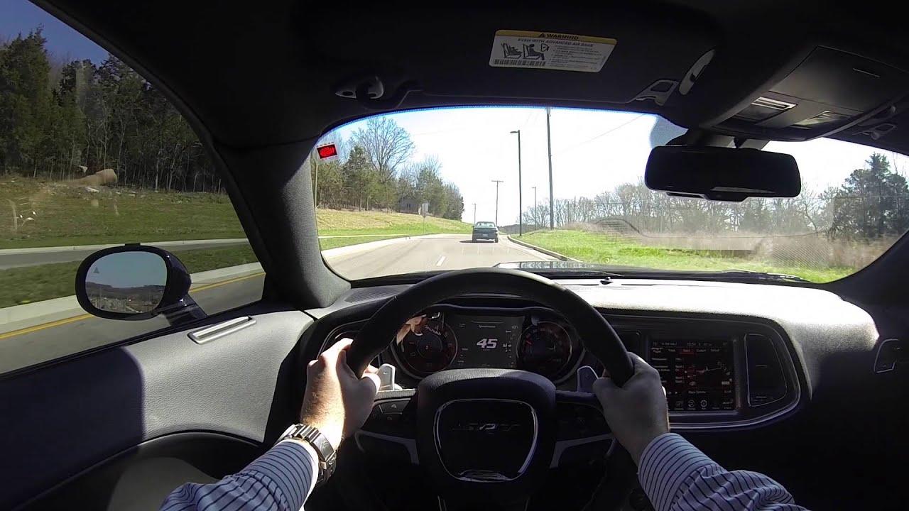Dodge Challenger Srt Hellcat Pov Test Drive Automatic