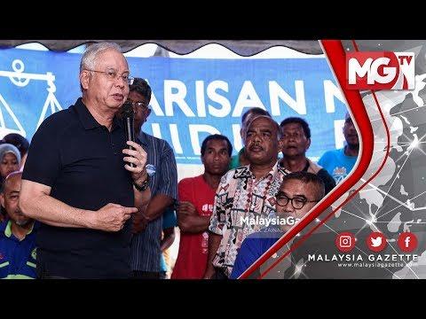 TERKINI : BANYAK TAK BETUL!!!   Najib Razak