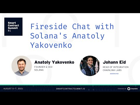 Anatoly Yakovenko: Fireside Chat With the Co-Founder of Solana