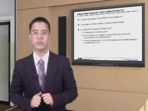 WST: Overview of Financial Mkts - Structured Products & ABS