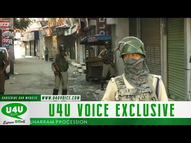 Restrictions in Srinagar parts to thwart Muharram procession