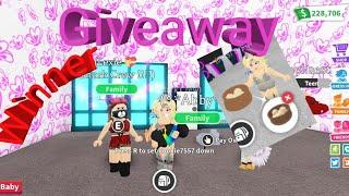 ADOPT Me roblox dim sum giveaway Gewinner