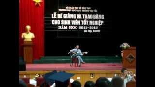 """Bài hát truyền thống ĐH.GTVT Hà Nội """"Cha & Thầy"""""""