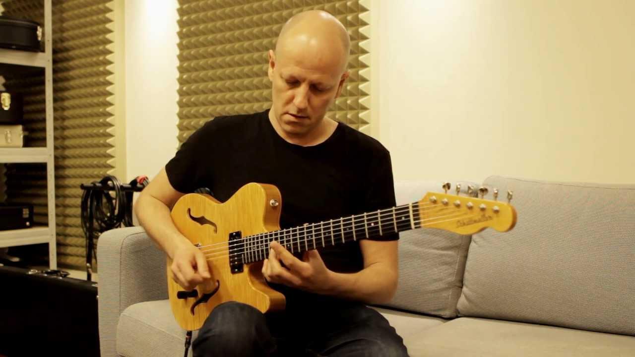 61f037de3e396b The Most Jazzy Tele Guitar (Schottmüller Television) - YouTube