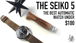 the best automatic watch under 100 a perfect place to start the iconic seiko 5 snkl23 review