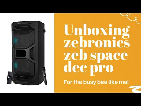 Zebronics ZEB Space Deck Pro Unboxing|| Video By Squad tech||