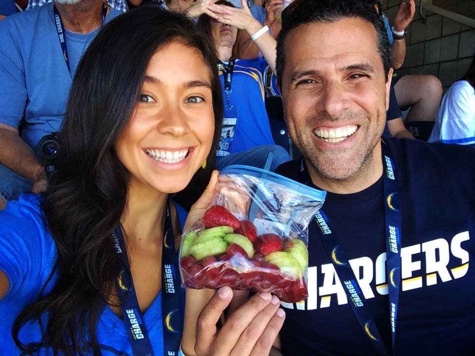 Juego de Chargers con Marco Antonio Regil en San Diego, CA! 19/10/14 ...